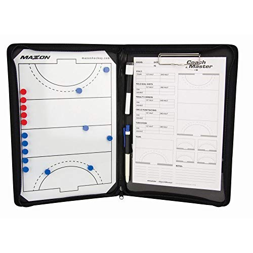 Mazon Coachmaster Field Hockey Coaching Folder