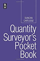 Quantity Surveyor's Pocket Book (Routledge Pocket Books)