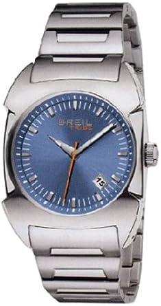 Breil TW0346 - Reloj analógico de caballero de cuarzo con correa de acero inoxidable plateada - sumergible a 100 metros