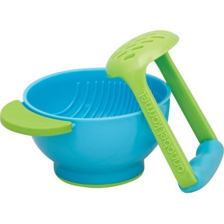 NUK Mash and Serve Bowl for Making Homemade Baby Food, BPA-Free. Lets You Easily And Quickly Mash Up Fruits And Vegetables.