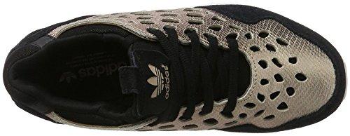 adidas Zx Flux Lace - Zapatillas Mujer Negro / Dorado