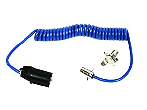 amazon com blue ox bx88254 7 wire to 4 wire coiled electrical blue ox bx88254 7 wire to 4 wire coiled electrical cable