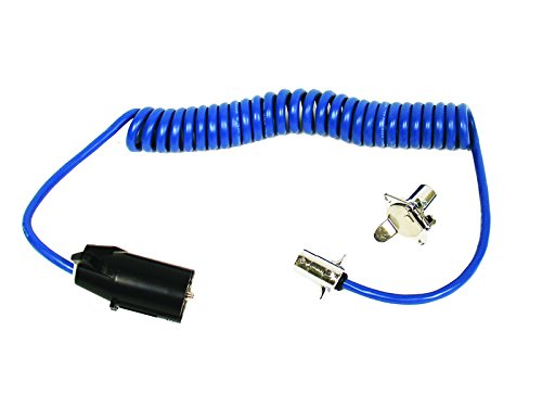 Blue Ox BX88254 7-Wire to 4-Wire Coiled Electrical Cable ()
