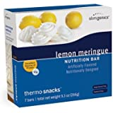 SlimGenics Thermo-Snacks |10g Protein - Alleviate Cravings, Increase Energy and Mental Focus, Enhance Weight Loss Results - Kosher Certified, 150 Calories - 7 Bars | Lemon Meringue