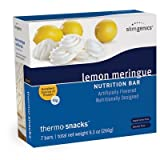 SlimGenics Thermo-Snacks ® |10g Protein - Alleviate Cravings, Increase Energy and Mental Focus, Enhance Weight Loss Results - Kosher Certified, 150 Calories - 7 bars | Lemon Meringue