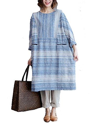 Vogstyle - Falda - para mujer Azul