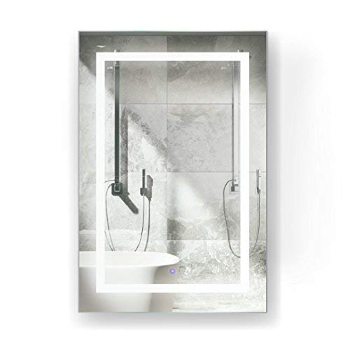 Krugg LED Medicine Cabinet 24 Inch X 36 Inch | Recessed or -