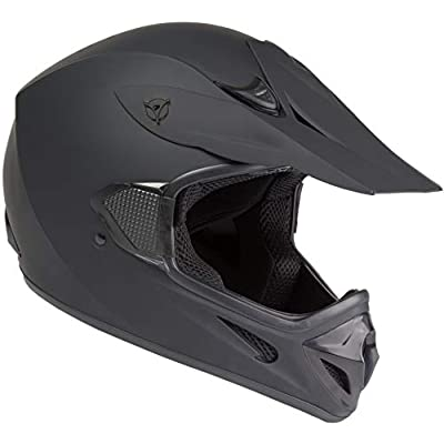 Raider RX1 Unisex-Adult MX Off-Road Helmet (Black, Small): Automotive