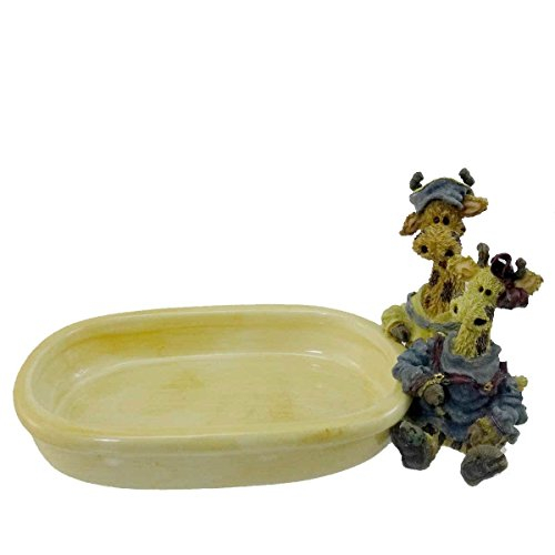 (Boyds Bears Resin Stretch & Skye Soap Dish Noahs Ark Giraffe - Resin & Ceramic 4.00 IN)