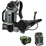 EGO LB6004 145 MPH 600 CFM 56-Volt Lithium-ion Cordless Backpack Blower with 7.5Ah Battery and Charger Included