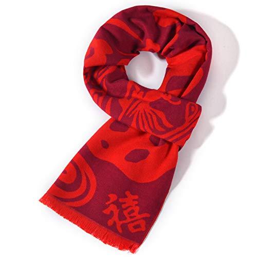 Pour Treillis 185cm Viscose Amdxd Rouge Mode Hiver D Femmes Foulard Écharpe Automne 7pwCHq
