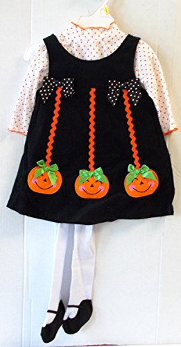 [Three Little Pumpkins Child Infant Costume Dress 3T NIP] (Kmart Costumes For Babies)