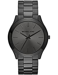 Men's Slim Runway Black Watch MK8507