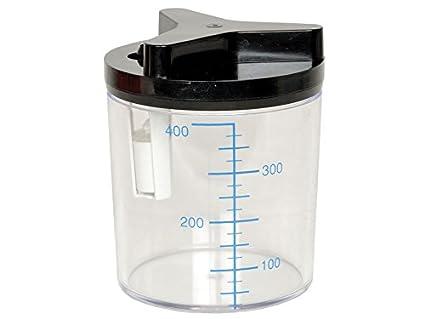 Tobi 28219 botella, para aspirador manual de succión, 0,4 L ...