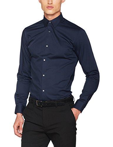 Business Iron Jones Fit s Homme Noos Premium Blazer Jack Fit slim Jprnon L Chemise amp; navy Shirt Bleu qvwxI5SgI