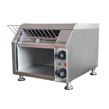 Amazon Adcraft Stainless Steel Conveyor Toaster 13 5 x 14 5