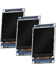 AZDelivery 3 x SPI TFT Display met 1,77 inch ST7735 en 128x160 Pixels compatibel met Arduino Inclusief E-Book!