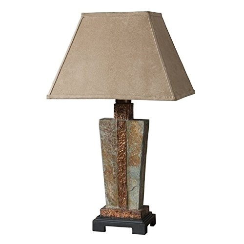 Uttermost 26322-1 Slate Accent Lamp from Uttermost