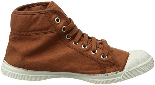 Alto Bensimon Donna a Mid Collo Sneaker Terracota Tennis Marrone Xqxwaq6Cf