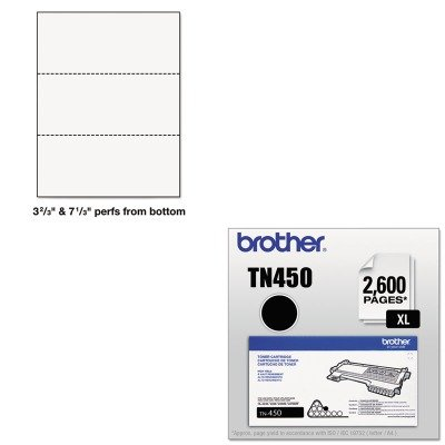 KITBRTTN450PRB04122 - Value Kit - Printworks Professional Office Paper (PRB04122) and Brother TN450 TN-450 High-Yield Toner (BRTTN450) by PrintWorks Professional