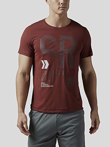 Reebok Sptn M SS Tee Shirt, Herren