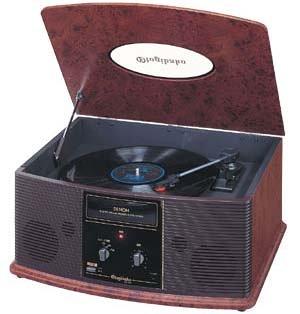 DENON 音聴箱 卓上型プレーヤー 木目 GP-S30   B0007VRPS2