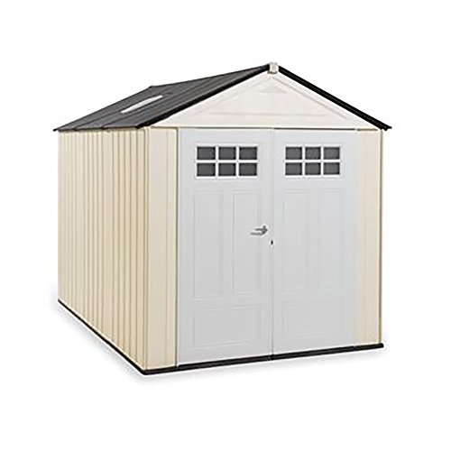 Rubbermaid Big Max Ultra Storage Shed, 7-foot by 10-foot (1862706) (Shed Rubbermaid Garden)