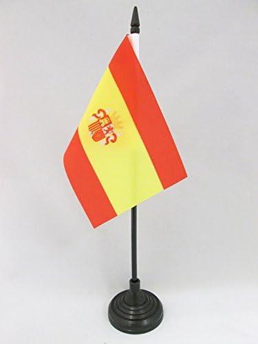 AZ FLAG Bandera de Mesa de ESPAÑA del Bando SUBLEVADO 1936-1938 15x10cm - BANDERINA de DESPACHO Guerra Civil ESPAÑOLA 10 x 15 cm: Amazon.es: Jardín