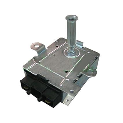 Motor eléctrico de asador de 6 W y 2 rpm. Sin eje. Para pincho