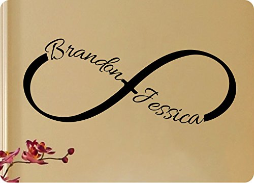 Amazon 60 Personalized Custom Name With Infinity Symbol Love Magnificent Infinity Love Quotes