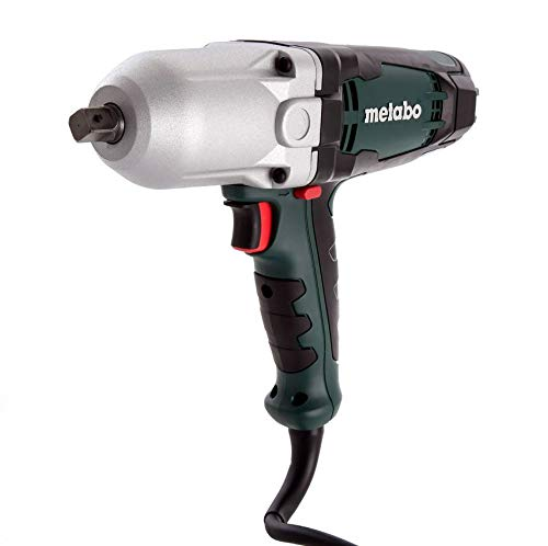Metabo SSW650 High Torque Impact Wrench 1 2 Drive, 450 Ft Lb Torque, Pistol Grip, 2,100 RPM,110 Volts 15 Feet of Cord with Vario Electronics which matches the wrench speed exactly to applications