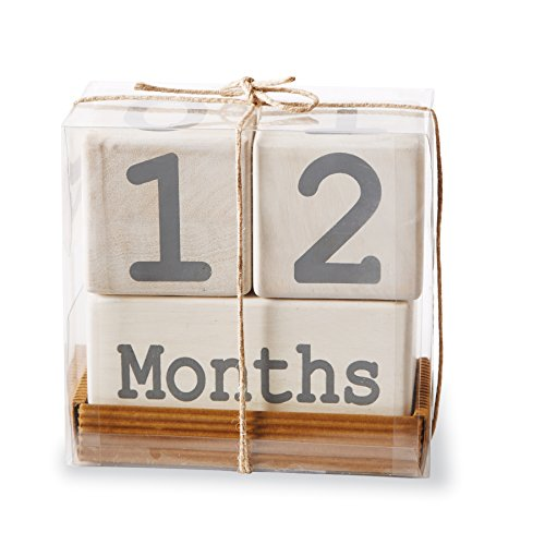 Mud Pie Milestone Blocks White product image