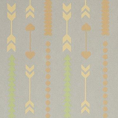 Gift Wrap - Arrows - Light Gray