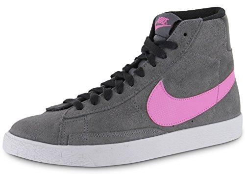 Nike Blazer para niño, color Gris y rosa