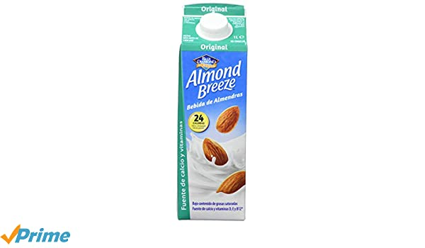 Almond Breeze Bebida de Almendra Original - Paquete de 6 x 1000 ml - Total: 6000 ml: Amazon.es: Amazon Pantry