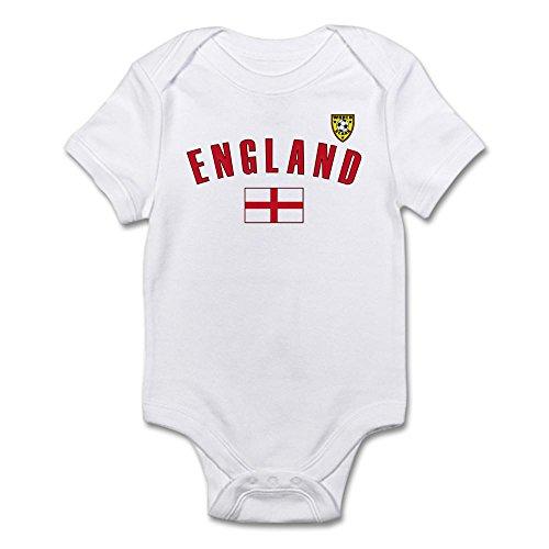 Onesie Jersey - CafePress England Soccer Infant Bodysuit - Cute Infant Bodysuit Baby Romper