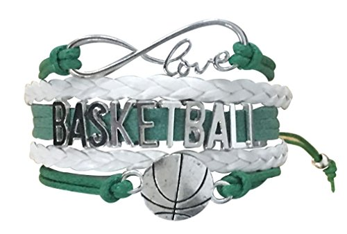 Infinity Collection Basketball Bracelet- Basketball Jewelry- Perfect Basketball Gift for Teams & Players