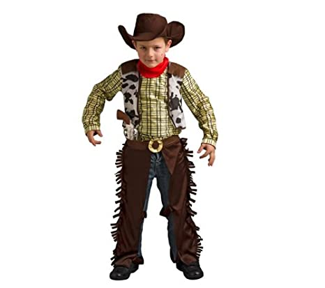 CARITAN Disfraz de Billy el Niño - Talla 8-10 años + Disfraz infantil de  indio - Talla 8-10 años  Amazon.es  Juguetes y juegos 4c2092673a2