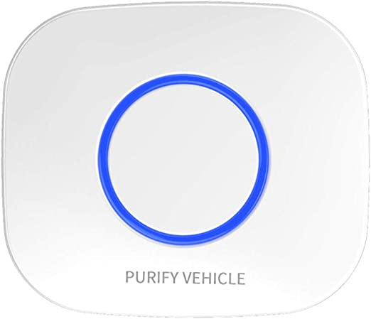 DAETNG Mini purificador de Aire enchufable para el hogar, USB Filtro de Aire iónico Modo Los olores los Fumadores, la Cocina y la lavandería para el automóvil y el Dormitorio del bebé,White: