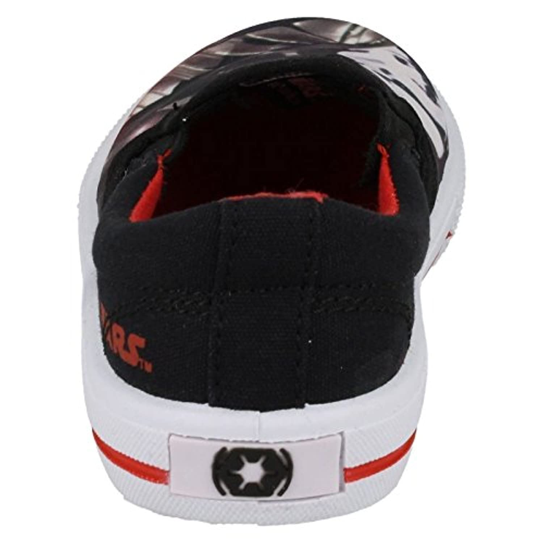 Boys Star Wars Fairview Slip On Canvas Shoe - Black - UK Size 7 - EU Size 24 - US Size 7.5