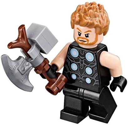 New Genuine LEGO Thor Infinity War Minifig Super Heroes 76102