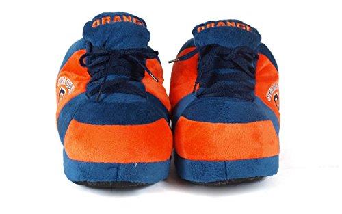 Happy Feet Menns Og Kvinners Offisielt Lisensiert Ncaa College Sneaker Tøfler Syracuse Oransje