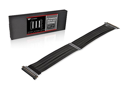 Thermaltake AC-050-CO1OTN-C1 TT Premium PCI-E x16 3.0 Extender Riser Cable 600mm ()