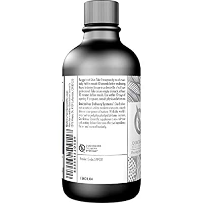 Quicksilver Scientific Micellized Pure PC - Phosphatidylcholine Liquid Supplement (4oz / 120ml)