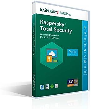 Kaspersky Lab Kaspersky Total Security 2017 - 5 PCs