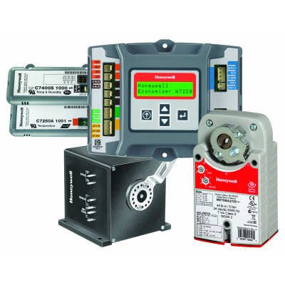 - Honeywell Economizer Logic module, sensors and actuators - Color - C7250A1001/U Economizer-c1