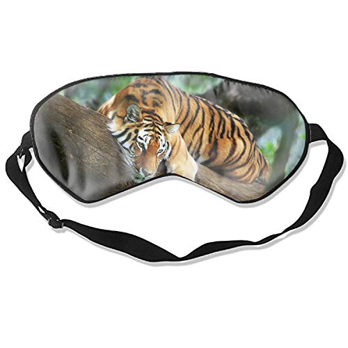 Tiger Eyeshade with Adjustable Strap for Women Men