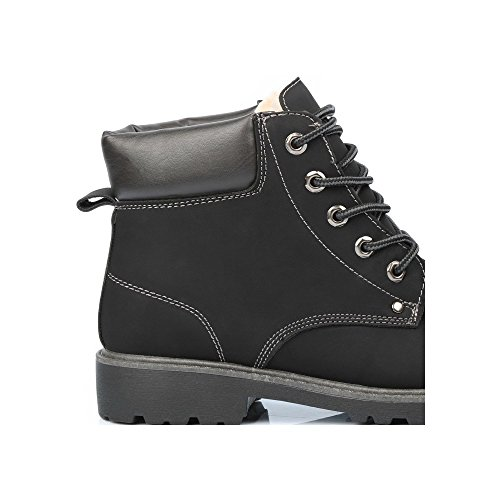 Batista Shoes Montagnard pour Baskets Noir Ideal style homme nYWxBFZ6wq