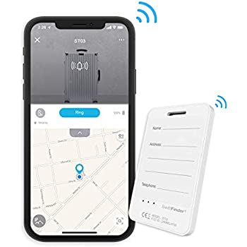 Amazon.com: Smart Luggage Tag ST03,Locator Tag with Phone Finder for Luggages,Suitcases and Bags,Bluetooth Tracker with App Control: Cell Phones & Accessories