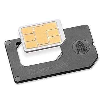 Nano SIM Adaptador convierte a SIM normal: Amazon.es ...